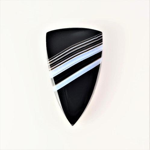 SOX:TR696 (SBBT) (Black & White Striped Onyx)