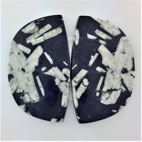 CWS:TG025-1 (SBBT) 1 Pair (Chinese Writing Stone)