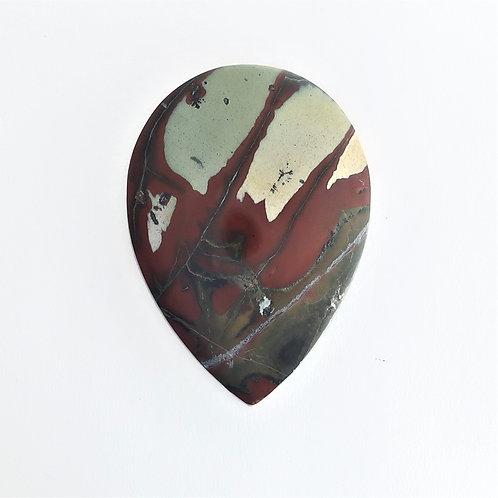 RGB:  28 (SBBT) Red & Green Blanket Jasper, 1 pc