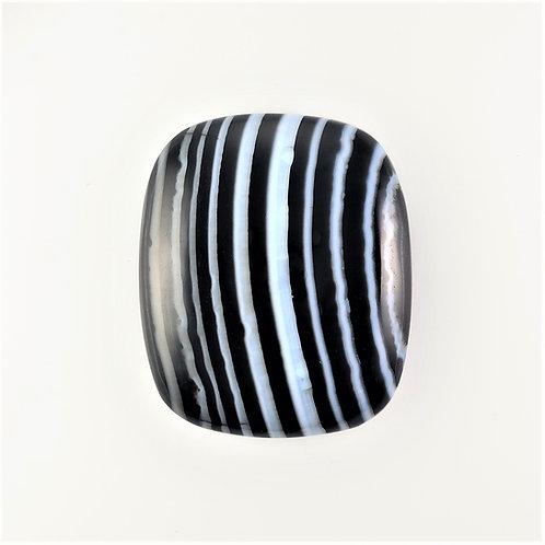 SOX:RT019 (SBBT) (Black & White Striped Onyx)