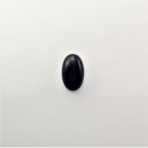 BOX: OV043 (Cabochon) Black Onyx