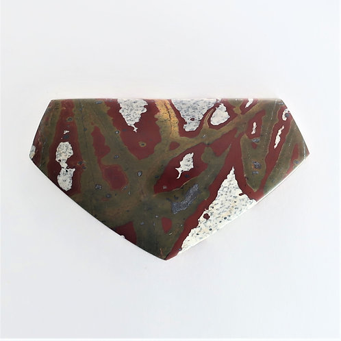 RGB:13 (SBBT) Red & Green Blanket Jasper, 1 pc