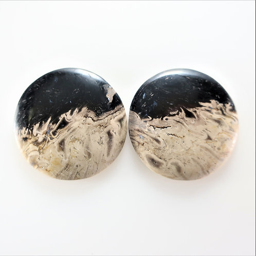 FPM: RD659-1,1 Pair (SBBT) (Fossil Palm Wood)