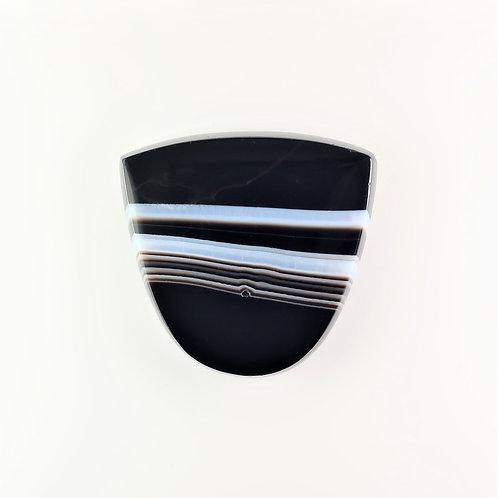 SOX:TG677-1 (SBBT) (Black & White Striped Onyx)