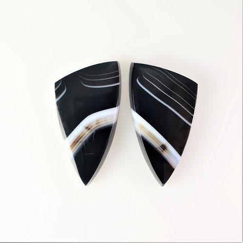 SOX:TR701 (SBBT) (Black & White Striped Onyx)