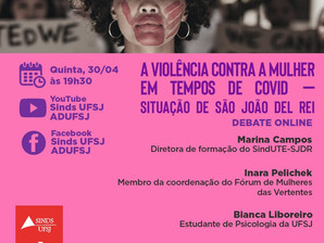 Ciclo debate Violência doméstica em SJDR