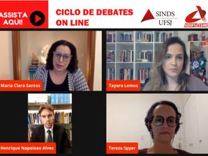 LIVE DISCUTE  A RELAÇÃO ENTRE PANDEMIA E INTERDIÇÃO DOS ESPAÇOS DEMOCRÁTICOS