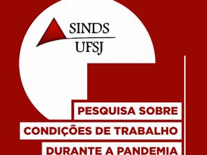 SERVIDORES DA UFSJ DEPENDEM DE INTERNET E EQUIPAMENTOS PRÓPRIOS PARA TRABALHO REMOTO, DIZ PESQUISA