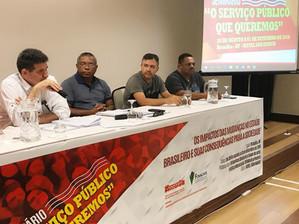 Diretoria Executiva do SINDS-UFSJ participa de Seminário em Brasília