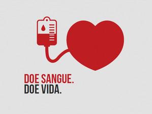 Doe sangue, você pode salvar vidas!