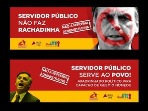 CENSURA: EMPRESA DE SJDR SE RECUSA A VEICULAR CAMPANHA CONTRA REFORMA ADMINISTRATIVA DE BOLSONARO
