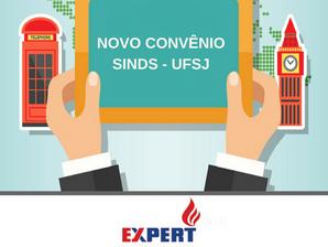 SINDS firma Convênio com a escola de idiomas Expert