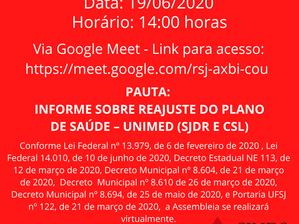 CONVOCAÇÃO ASSEMBLEIA GERAL EXTRAORDINÁRIA