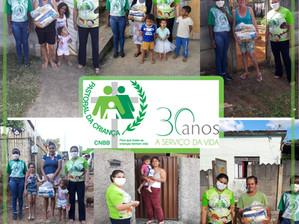 Ação solidária auxilia trabalho da Pastoral da Criança em Barroso
