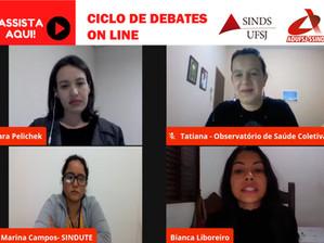 Debate: violência doméstica e  isolamento social