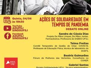 Debate: Ações de Solidariedade em tempos de pandemia