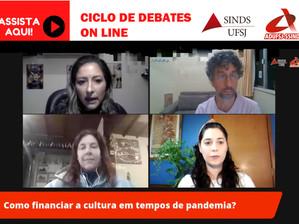 LIVE DEBATE O FINANCIAMENTO DA CULTURA POR MEIO DA LEI ALDIR BLANC