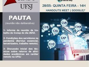 Convite para Reunião Ampliada