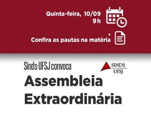 ASSEMBLEIA DO SINDS-UFSJ DECIDIRÁ SOBRE AUXÍLIO FINANCEIRO AOS TRABALHADORES DA VIAÇÃO PRESIDENTE