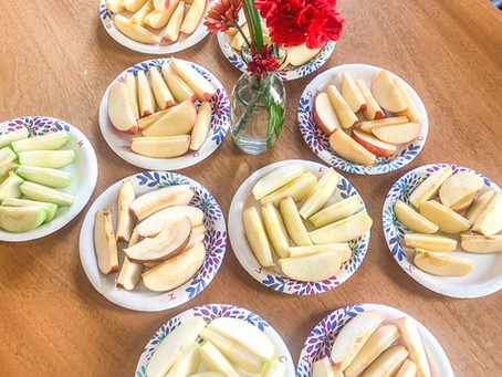 Fall Fun: Apples to Apples