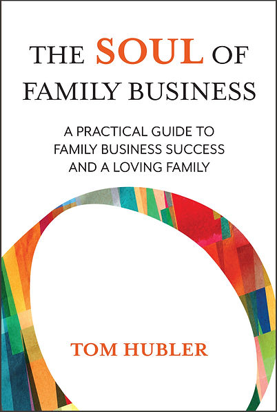 The Soul of Family Business - front cove