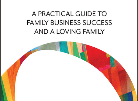 """Family business reflections and a new guidebook: """"The Soul of Family Business"""""""