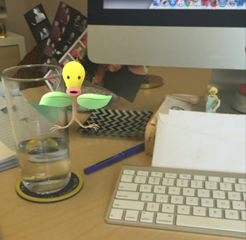 There's a Bellsprout in my garden! Lessons from Pokémon Go