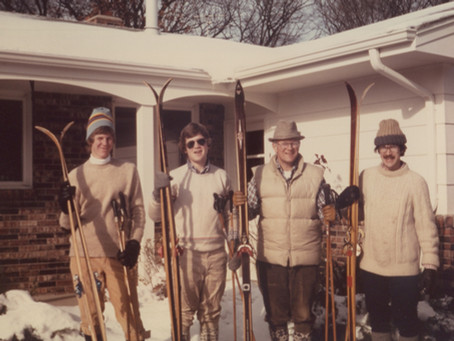 Reflections of a vintage skier