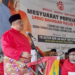 UMNO bertegas pertahan kerusi Parlimen Masjid Tanah