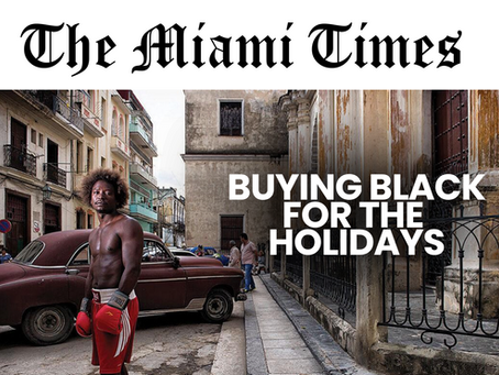 The Miami Times - James Cole Featured Artist