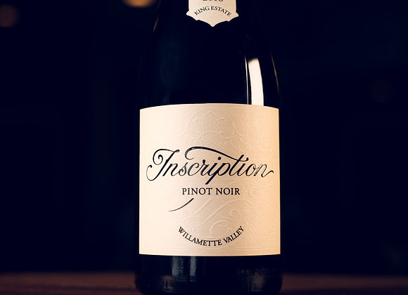 Pinot Noir * Inscription