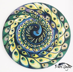 Abstract Peacock