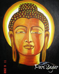 Buddha in black