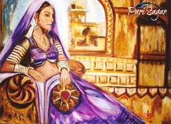 Rajesthani beauty 1 (Sold)