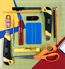 Cutting & Hand tools (From big to small.)