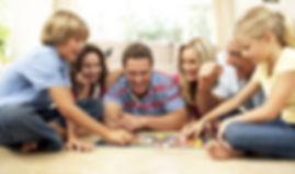 Familj Board Game