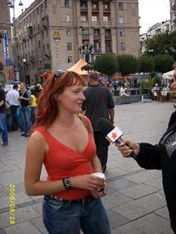 Ukraina TV uudistes