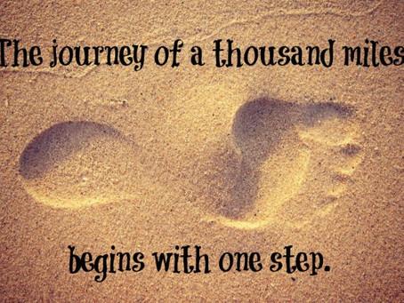 Iga teekond algab esimesest sammust...