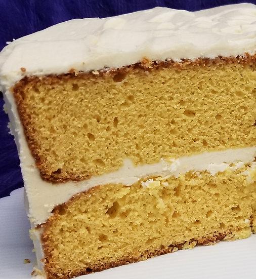 Pina Colada Cake Slice