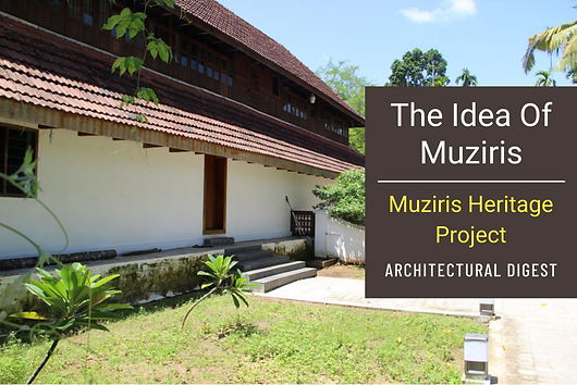Article in Architectural Digest - Muziris Heritage Project is one of Benny's major works and one close to his heart. Architectural Digest does a report on the lost city of the Muziris and the government's initiative to put this once ancient port city back on the world map.