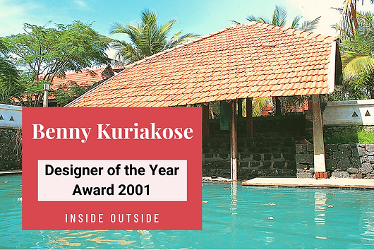 Inside Outside takes you on a journey to the seaside home that bagged Benny Kuriakose the 'Inside Outside Designer of the Year 2001' award.
