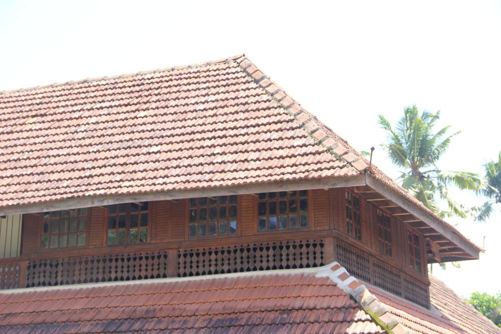 Exterior Tile Roof Detail