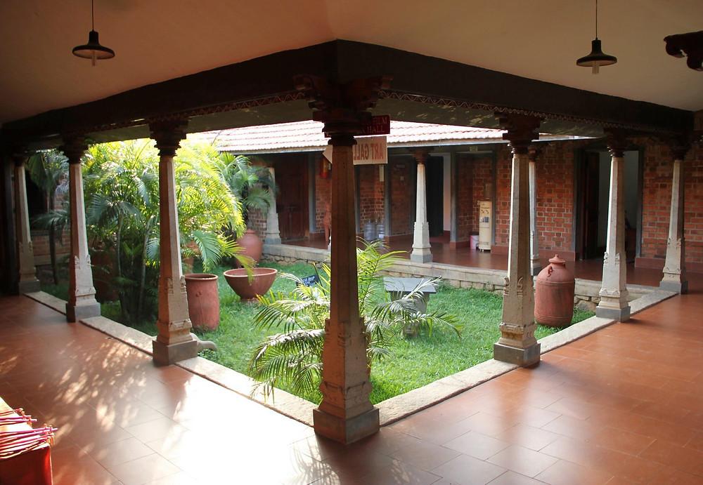 Dakshinachitra Courtyard