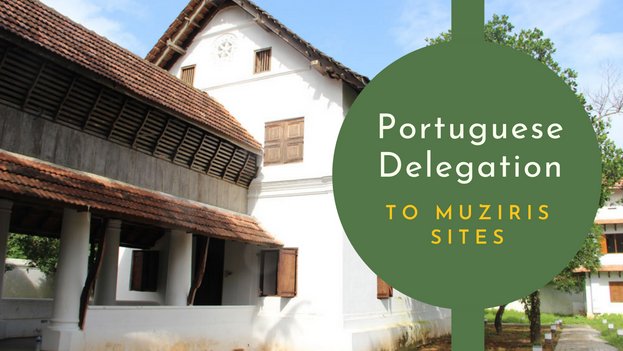 On 11 September 2019, a 26 member delegation from the National Centre for Culture, Portugal visited Kottappuram and Pallipuram Forts. There was a discussion with the delegation in Grand Hyatt, Kochi on the possible areas of collaboration in the future. Ms. Helena Serra and Dr. Anisio Franco led the Portuguese team. Prof. Kesavan Veluthat, Prof. Michael Tharakan, Sri. Rubin DCruz, Sri Nowshad Padiyath and Benny Kuriakose represented the Muziris Heritage Project.
