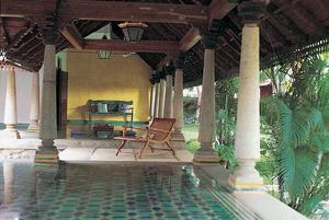 Traditional Chettinad Veranda