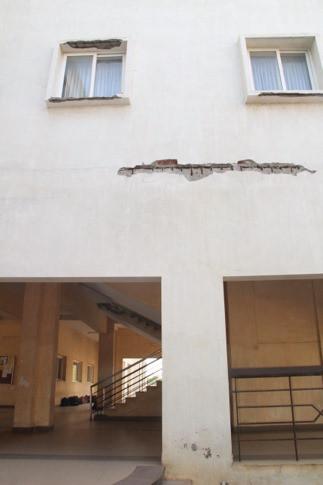 Cracks in Concrete buildings