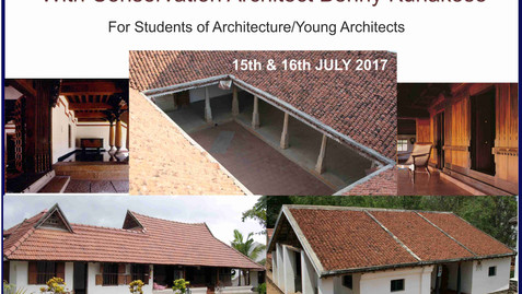 DAKSHINACHITRA ARCHITECTURE WORKSHOP