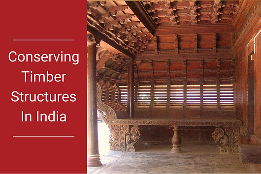 This conservation brief written by Benny Kuriakose is a reference book for architects, engineers and those involved in timber in historic building conservation. This manual is specifically focusing on the practical implementation level and provides a wide range of essential information as well as dos and don'ts.