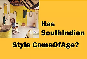 Has South Indian Style Come Of Age?