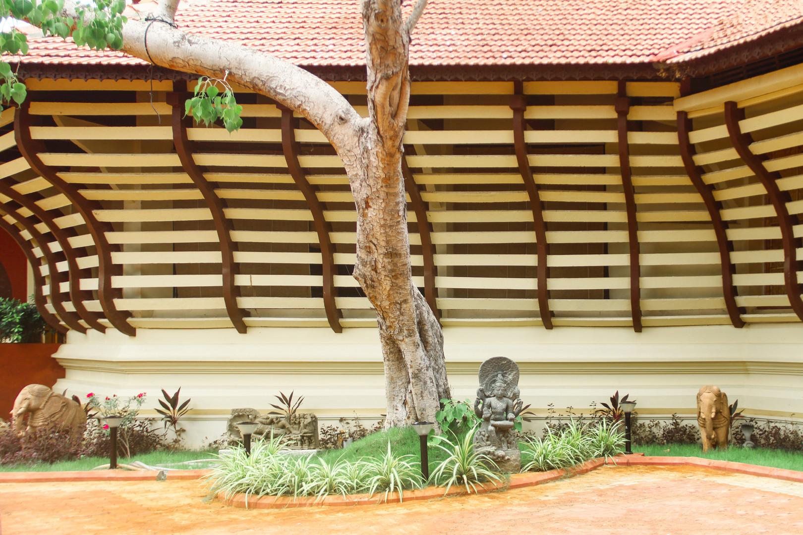 Exterior Facade Detail